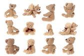 Teddy bear set — Stock Photo