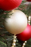 Balls on Christmas — Stock Photo