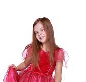 Little girl on Holiday — Stock Photo