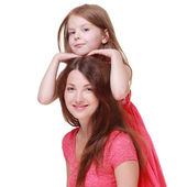 Mother with his little daughter — Stock Photo