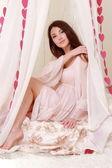 Woman on love concept — Foto de Stock