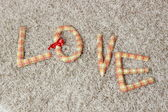 Spell love — Stock Photo