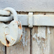 Stock Photo: Key and lock