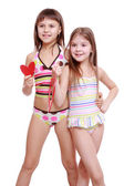 Adorable little girls — Stock Photo