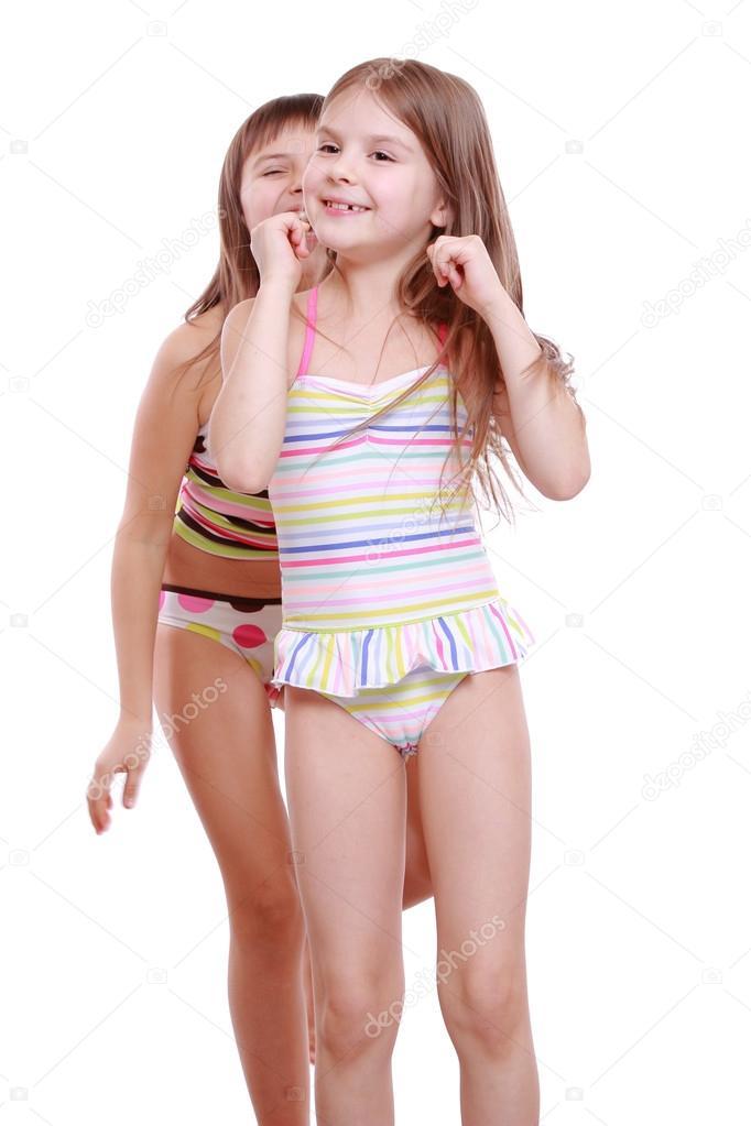Girl vibrator wearing