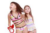 Adorable little girls — Stock Photo