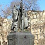 Saints Cyril and Methodius monument — Stock Photo #42477419
