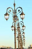 Lanterns in Moscow — Zdjęcie stockowe
