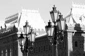 Lanterns in Moscow — Stock Photo