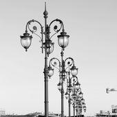 Lanterns in Moscow — Stok fotoğraf