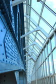 Glass bridge — Stockfoto