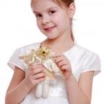 Portrait of little girl — Stock Photo #48347935