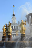 Places of interest in Moscow — Stock Photo