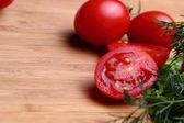 Integers tomatoes — Photo