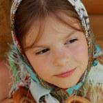Close up kid portrait — Stock Photo #51538911