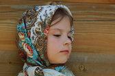 Beautful little girl portrait — Stock Photo