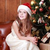 Happy kid on Christmas — Stock Photo