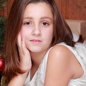 Kid on Holiday theme — Stock Photo