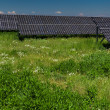 Stock Photo: Solar panels on a sunny day