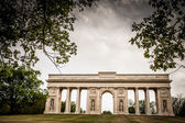 Colonnade Reistna, a neoclassical landmark — Stock Photo