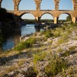 Stock Photo: Pont du Gard, Languedoc-Roussillon, France
