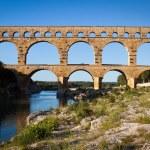 Pont du Gard, Languedoc-Roussillon, France — Stock Photo #12662594