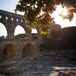 Pont du Gard, Languedoc-Roussillon, France - Stock Photo
