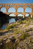 Pont du Gard, Languedoc-Roussillon, France — Stock Photo