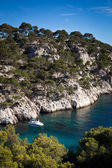 Splendid southern France coast (Calanques de Cassis), southern F — Stock Photo