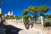 View of Notre-Dame de la Garde basilica in Marseille, southern F — Stock Photo