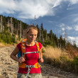 Pretty, female hiker — Stock Photo #41961169