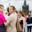 Stock Photo: Women sightseeing in Prague