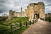 Warkworth Castle — Stock Photo