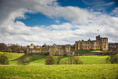 Alnwick Castle, Northumberland — Stock Photo