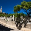 Notre-Dame de la Garde basilica in Marseille — Stock Photo