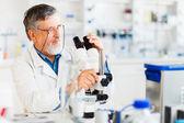 Manliga forskare — Stockfoto