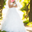 Bride on her wedding day — Stock Photo #49030639