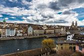 Zürich stadsgezicht — Stockfoto