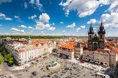 Prag eski şehir meydanı — Stok fotoğraf