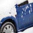 Cars in winter — Stock Photo #7416466