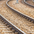 Stock Photo: Railway for train