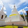 Wat Phra Singh temple in Thailand - Stock Photo