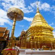 Stock Photo: Wat Phrathat Doi Suthep temple in Chiang Mai, Thailand.