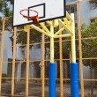 Royalty-Free Stock Photo: Basketball court in perspective view