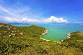 Montanha de Hong kong e da paisagem costeira — Fotografia Stock