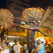 Tai Hang Fire Dragon Dance 2012 — Stock Photo