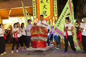 Tai Hang Fire Dragon Dance in Hong Kong — Stock Photo