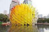 Połowie jesień latarnia karnawał w hong kongu — Zdjęcie stockowe