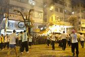 Tai powiesić ogniem smok taniec w hong kongu — Zdjęcie stockowe