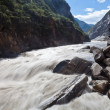 Tiger Leaping Gorge in Lijiang, Yunnan Province, China. - Stock Photo